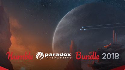 The Humble Paradox Bundle 2018 features Stellaris, Pillars of Eternity, and more cover