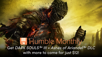 Get DARK SOULS III in the March Humble Monthly Bundle cover