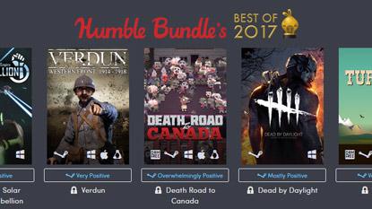 Itt a Humble Bundle's Best of 2017 cover