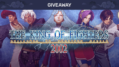 Get The King of Fighters 2002 for free right now cover