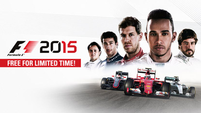 F1 2015 is currently free on PC cover