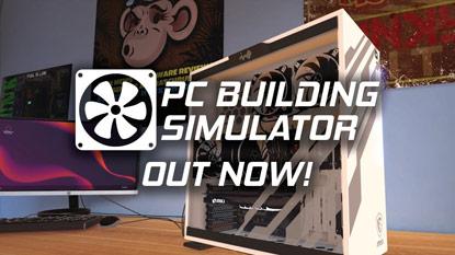 PC Building Simulator: itt a korai hozzáférésű verzió cover