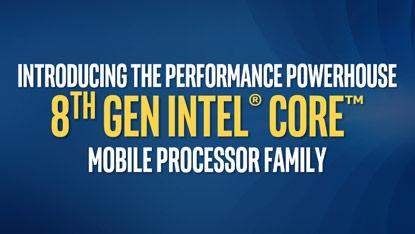 Megjelentek a 8. generációs Coffee Lake mobile processzorok