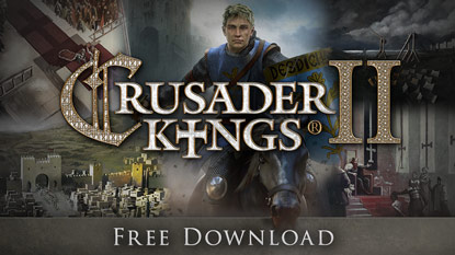 Grab Crusader Kings II for free right now cover