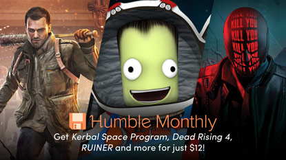 Get Kerbal Space Program, Dead Rising 4, and RUINER in the May Humble Monthly Bundle cover