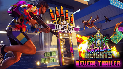 Free-to-play battle royale Radical Heights revealed