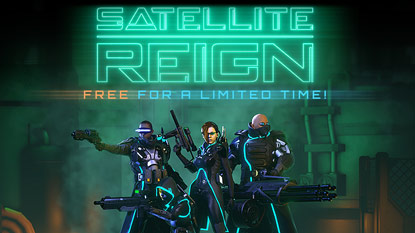 Satellite Reign is currently free on PC cover