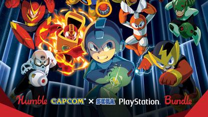 Itt a Humble Capcom X SEGA PlayStation Bundle cover