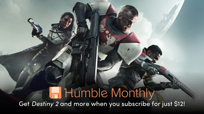 Get Destiny 2 in the June Humble Monthly Bundle cover