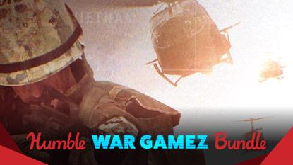 Itt a Humble War Gamez Bundle cover