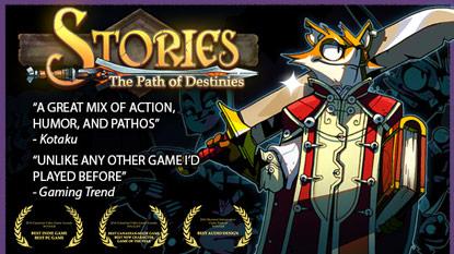 Ingyenesen beszerezhető a Stories: The Path of Destinies cover