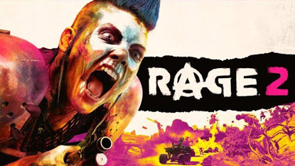 Rage 2 officially announced cover