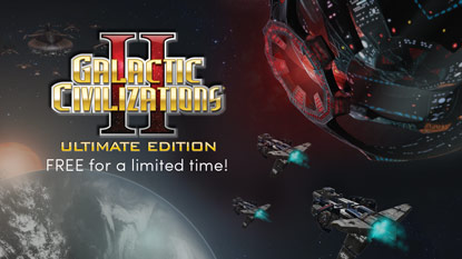 Galactic Civilizations II is currently free on PC cover