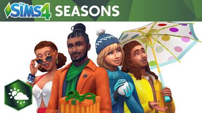 The Sims 4: jönnek az évszakok cover