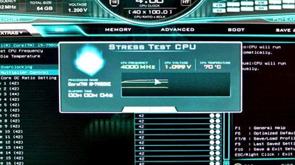 Az EVGA CPU stressz tesztet épít a BIOS-ba