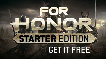 Ingyenes a For Honor Starter Edition cover
