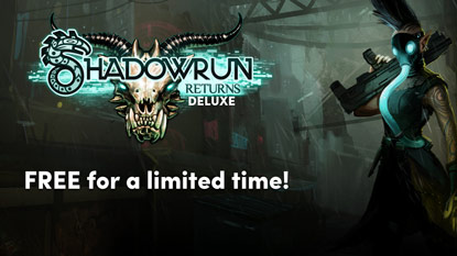 Shadowrun Returns Deluxe is free for a limited time