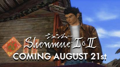 Kiderült, mikor jelenik meg a Shenmue I & II cover