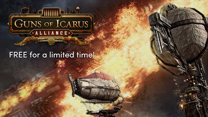 Guns of Icarus Alliance is free for a limited time