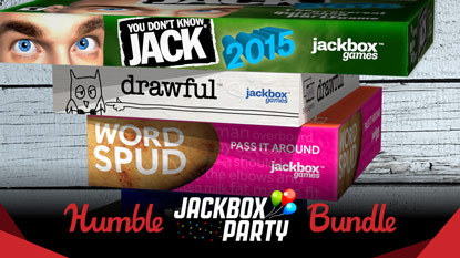 The Humble Jackbox Party Bundle is live