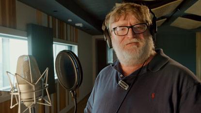 Gabe Newell a Dota 2-ben
