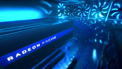 Az AMD bejelentette a Radeon Pro V340 grafikus kártyát cover
