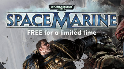 Grab Warhammer 40,000: Space Marine for free right now cover