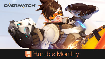Get Overwatch in October's Humble Monthly cover