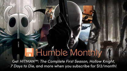Get Hollow Knight, Hitman, and 7 Days to Die in November's Humble Monthly cover