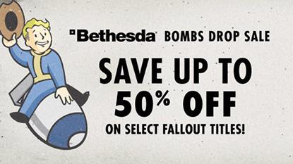 Humble Store: elrajtolt a Bethesda Bombs Drop Sale cover