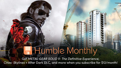 Get Metal Gear Solid V and Cities: Skylines in December's Humble Monthly