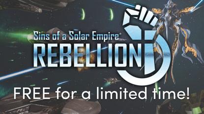 Ingyenesen beszerezhető a Sins of a Solar Empire: Rebellion