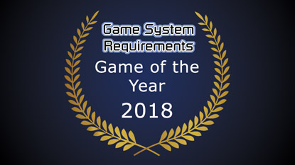 GSR: Game of the Year Award 2018 cover
