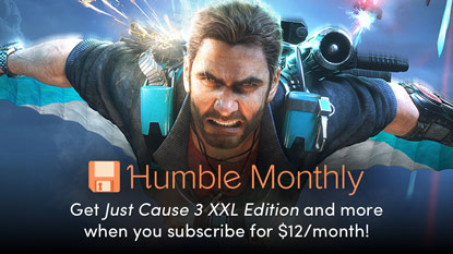 Get Just Cause 3, Project CARS 2, and Wizard of Legend in January's Humble Monthly