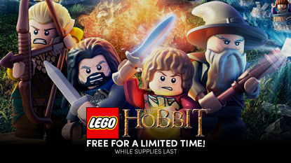 LEGO The Hobbit is free for a limited time