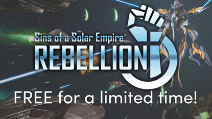 Sins of a Solar Empire: Rebellion is free for a limited time