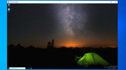 A Microsoft elérhetővé tette a Windows Sandbox módot