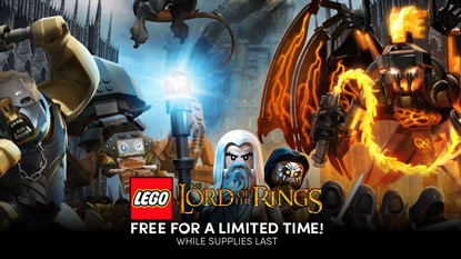 LEGO The Lord of the Rings is currently free on PC cover
