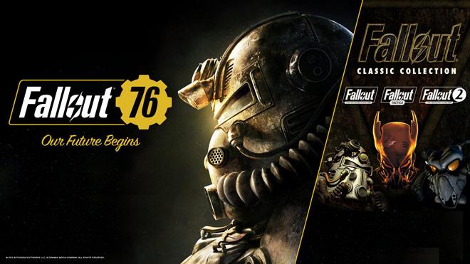 Ingyenes klasszikus Fallout részeket kapnak a Fallout 76 játékosai