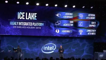 CES 2019: az év végén várhatók az Intel 10 nm-es Ice Lake chipjei