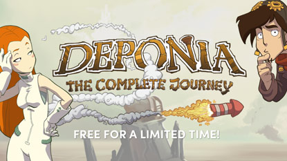 Deponia: The Complete Journey is currently free on PC