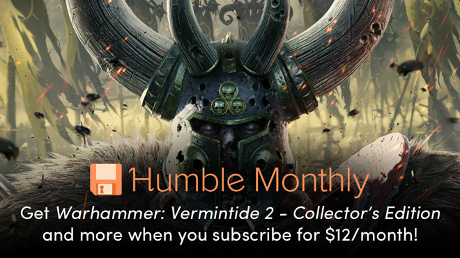Get Warhammer: Vermintide 2 in March's Humble Monthly