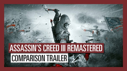 Videón az Assassin's Creed 3 Remastered cover