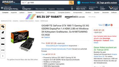 GeForce GTX 1660 Ti: felbukkant a kártya FFXV benchmark eredménye és ára