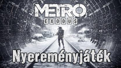Metro Exodus nyereményjáték