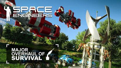 Megjelent a Space Engineers, három napig ingyenesen kipróbálható