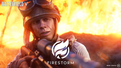 Battlefield 5: Firestorm (battle royale) játékmenet trailer