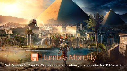 Assassin's Creed Origins a májusi Humble Monthlyban cover