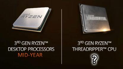 Az AMD 2019-es ütemtervében már nincs jelen a Threadripper 3