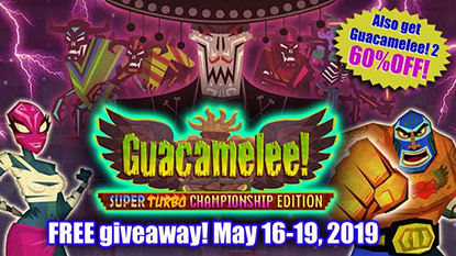 Guacamelee! is currently free on PC